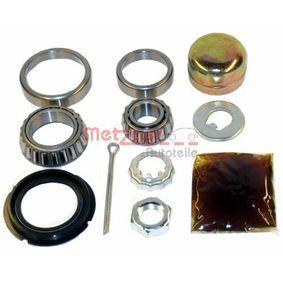 Radlagersatz Ø: 39,9, 50,3mm, Innendurchmesser: 17, 29mm mit OEM-Nummer 191.598.625