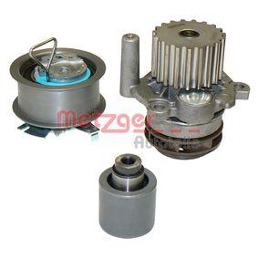 METZGER Wasserpumpe + Zahnriemensatz WM-Z 0220WP für AUDI A4 (8E2, B6) 1.9 TDI ab Baujahr 11.2000, 130 PS