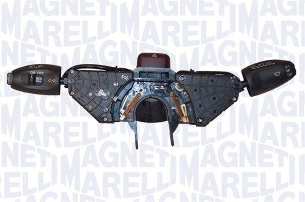 MAGNETI MARELLI  000050149010 Steering Column Switch with board computer function, with cruise control, with indicator function, with light dimmer function, with rear wipe-wash function, with wipe interval function, with wipe-wash function