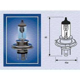 Bulb, spotlight H4, 75/70W, 24V 002156100000