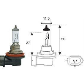 Bulb, spotlight H11, 55W, 12V 002549100000 FORD MONDEO IV (BA7)