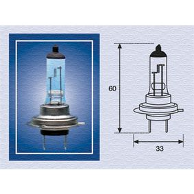 Glühlampe, Fernscheinwerfer STANDARD 002558100000
