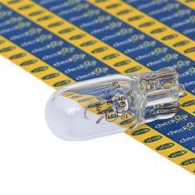 Bulb, indicator W5W, W2,1x9,5d, 24V, 5W 003922100000 MERCEDES-BENZ VARIO Bus