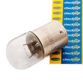 Крушка с нагреваема жичка, светлини на рег. номер R5W, BA15s, 12волт, 5ват 004007100000