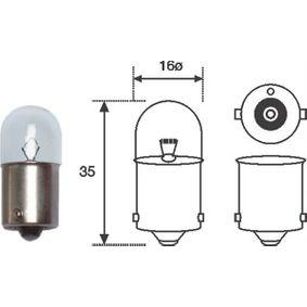 Bulb, tail light R10W, BA15s, 12V, 10W 004008100000