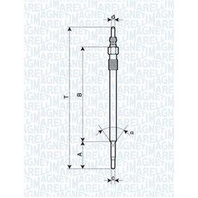 Glühkerze Länge über Alles: 150,9mm, Gewindemaß: M9X1 mit OEM-Nummer 36710 4A000