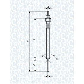 Glühkerze Länge über Alles: 148,9mm, Gewindemaß: M10X1,25 mit OEM-Nummer 36710-4A 000
