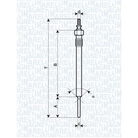 Glow Plug Total Length: 148,9mm, Thread Size: M10X1,25 with OEM Number 36710-4A100