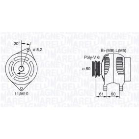 Lichtmaschine mit OEM-Nummer 5702 C0