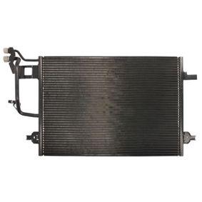 THERMOTEC Kondensator, Klimaanlage KTT110080 für AUDI A6 (4B2, C5) 2.4 ab Baujahr 07.1998, 136 PS