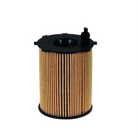 Filtro de aceite Altura: 118mm con OEM número 9656432180