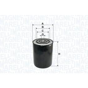 Ölfilter Höhe: 146mm mit OEM-Nummer 71771361