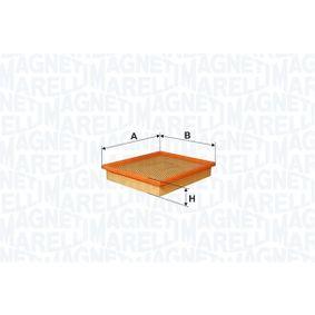 Filtre à air Hauteur: 33mm avec OEM numéro 60538903