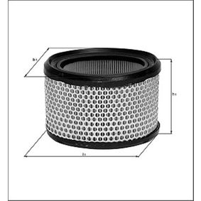 Oil Filter Ø: 75mm, Height: 76mm with OEM Number 60621830