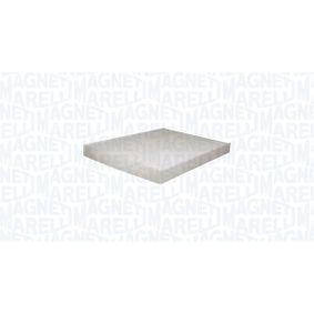 Filter, Innenraumluft Länge: 280mm, Breite: 205mm, Höhe: 25mm mit OEM-Nummer 1H0 819 638 B
