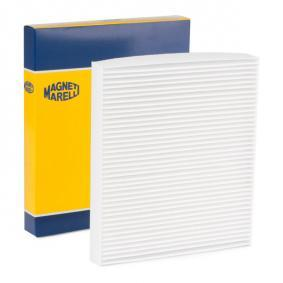 Filter, interior air Length: 246mm, Width: 216mm, Height: 30mm with OEM Number 6Q0 820 367
