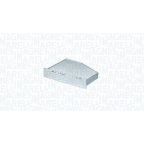 Filter, Innenraumluft Breite: 278mm, Höhe: 58mm mit OEM-Nummer 1K0 819 644B
