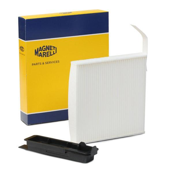 MAGNETI MARELLI  350203062090 Filter, interior air Length: 184mm, Width: 182mm, Height: 25mm