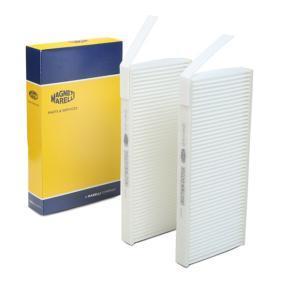 Filter, Innenraumluft Länge: 240mm, Breite: 108mm, Höhe: 20mm mit OEM-Nummer 95 52 5119