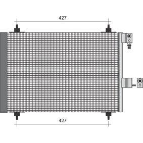 Kondensator, Klimaanlage mit OEM-Nummer 6455-AT