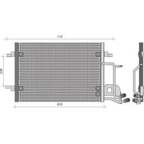 MAGNETI MARELLI Kondensator, Klimaanlage 350203492000 für AUDI A6 (4B2, C5) 2.4 ab Baujahr 07.1998, 136 PS