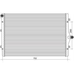 Kühler, Motorkühlung mit OEM-Nummer 3C0121253K