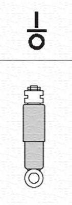 MAGNETI MARELLI  356233070000 Stoßdämpfer Länge: 354mm, Länge: 555mm, Länge: 555mm, D1: 38mm