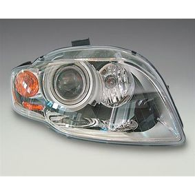 Headlight for vehicles with headlamp levelling (automatic), for right-hand traffic with OEM Number 8E0941003AM