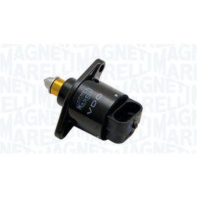 Válvula de Control del Ralentí RENAULT KANGOO (KC0/1_) 1.2 (KC0A, KC0K, KC0F, KC01) de Año 08.1997 58 CV: Válvula de mando de ralentí, suministro de aire (801000774001) para de MAGNETI MARELLI