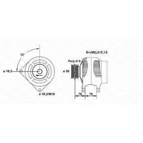 Lichtmaschine mit OEM-Nummer 12311432986