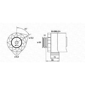 Lichtmaschine mit OEM-Nummer 500 3746