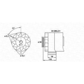 Generator mit OEM-Nummer 1277502
