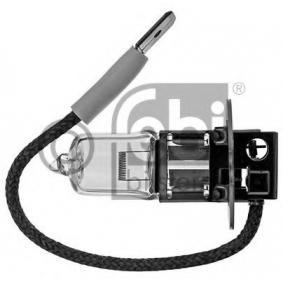 Hauptscheinwerfer Glühlampe VW PASSAT Variant (3B6) 1.9 TDI 130 PS ab 11.2000 FEBI BILSTEIN Glühlampe, Hauptscheinwerfer (06698) für