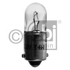 Bulb, instrument lighting T4W, BA9s, 4W, 12V 06959