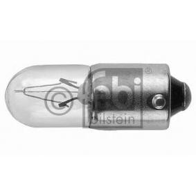 Bulb, instrument lighting T4W, BA9s, 4W, 24V 06960