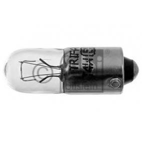 Bulb, instrument lighting T4W, BA9s, 4W, 24V 06961