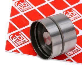 FEBI BILSTEIN Ventilstößel 07060 für AUDI 80 (8C, B4) 2.8 quattro ab Baujahr 09.1991, 174 PS