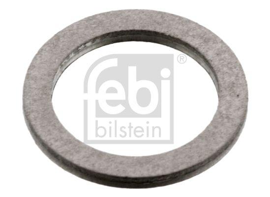 FEBI BILSTEIN Στεγανοποιητικός δακτύλιος, τάπα εκκένωσης λαδιού Αλουμίνιο, Εσωτερική διάμετρος: 12,35mm 07106