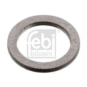 Seal, oil drain plug Ø: 15,3mm, Thickness: 1,5mm, Inner Diameter: 12,35mm with OEM Number 07119963130