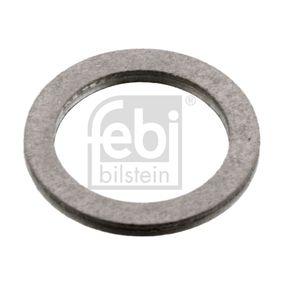FEBI BILSTEIN  07106 Уплътнителен пръстен, пробка за източване на маслото Ø: 15,3мм, дебелина: 1,5мм, вътрешен диаметър: 12,35мм