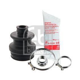 Faltenbalgsatz, Antriebswelle Innendurchmesser 2: 22,5mm, Innendurchmesser 2: 65,5mm mit OEM-Nummer 1243500237