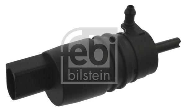 FEBI BILSTEIN  09088 Waschwasserpumpe, Scheibenreinigung Spannung: 12V, Anschlussanzahl: 2