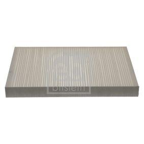 Filter, Innenraumluft Länge: 308mm, Breite: 195,0mm, Höhe: 30mm mit OEM-Nummer 4A0 819 439A
