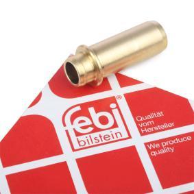 FEBI BILSTEIN Ventilführung 10007 für AUDI 80 (8C, B4) 2.8 quattro ab Baujahr 09.1991, 174 PS