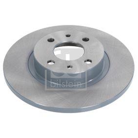 Brake Disc 10618 PUNTO (188) 1.2 16V 80 MY 2006