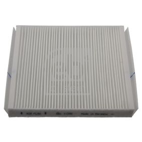 Filter, Innenraumluft Länge: 255mm, Breite: 233,0mm, Höhe: 29mm mit OEM-Nummer 90 559549