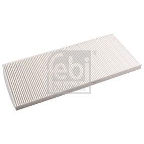 FEBI BILSTEIN  11509 Filter, Innenraumluft Länge: 383mm, Breite: 172,0mm, Höhe: 17mm