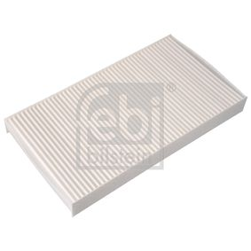 Filter, Innenraumluft Länge: 288mm, Breite: 160,0mm, Höhe: 30mm mit OEM-Nummer 60 653 641