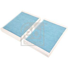 FEBI BILSTEIN  12263 Filter, Innenraumluft Länge: 262mm, Breite: 198,0mm, Höhe: 31,5mm