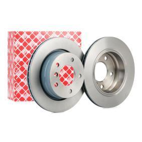 Bremsscheibe Bremsscheibendicke: 19mm, Lochanzahl: 5, Ø: 276,0mm mit OEM-Nummer 34216855155